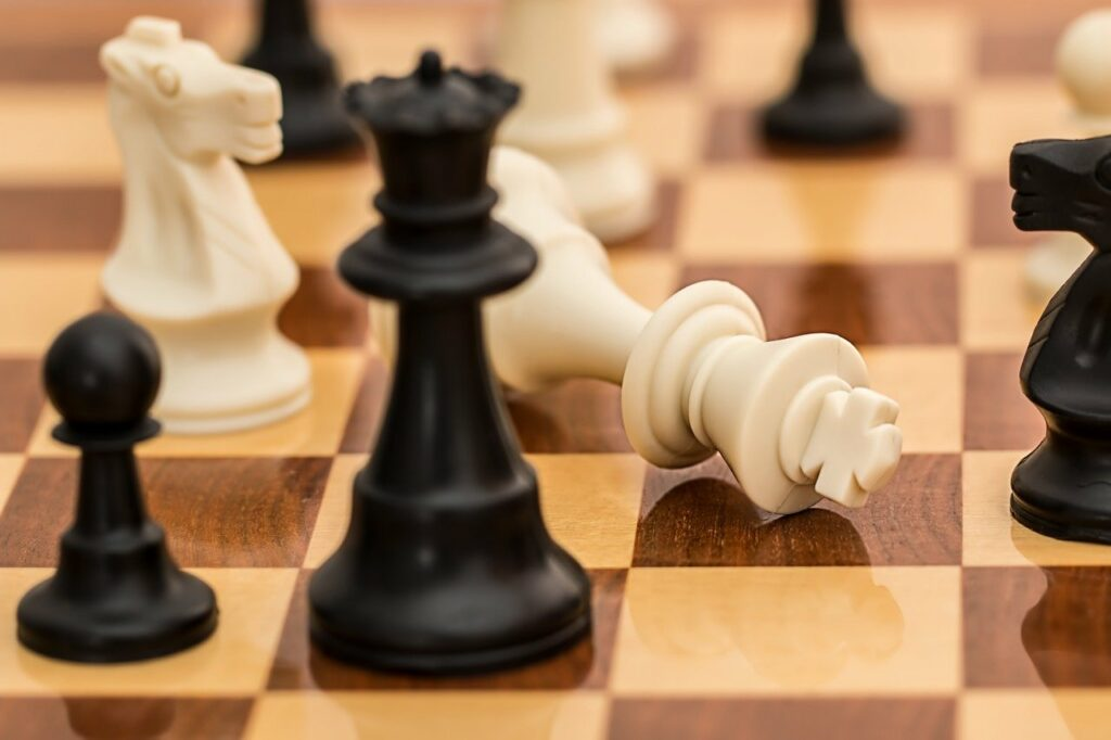 Schachmatt - jedes Scheitern bringt weiter