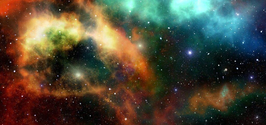 Ein Foto des Sternenhimmels.
